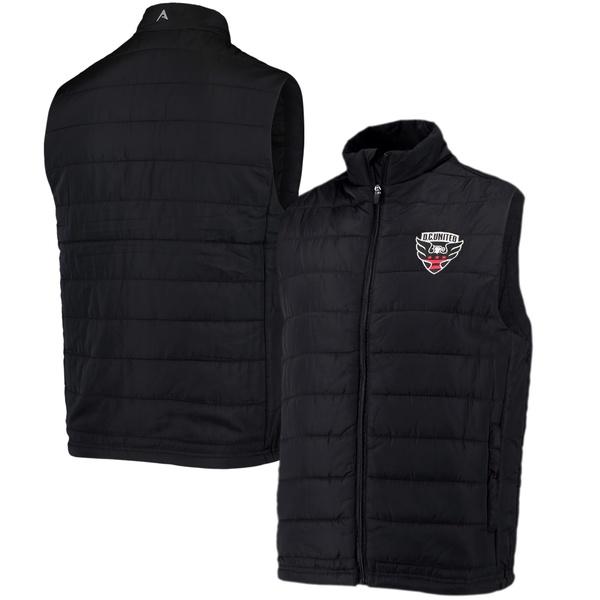 アンティグア メンズ ジャケット&ブルゾン アウター D.C. United Antigua Atlantic Vest Black