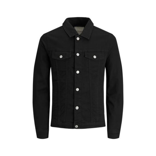 ジャック アンド ジョーンズ メンズ ジャケット&ブルゾン アウター Alvin Denim Jacket BLACK