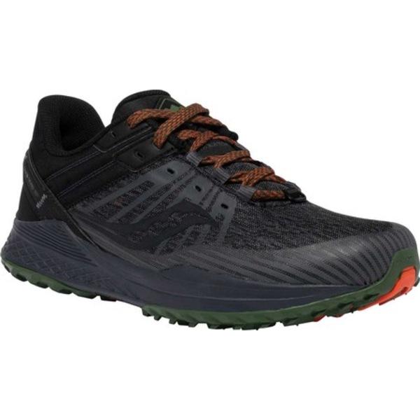 スニーカー シューズ River Running Sneaker Trail (Men's) Charcoal/Pine TR2 サッカニー Mad メンズ