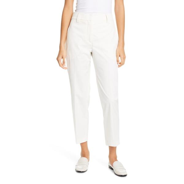 セブンティ レディース カジュアルパンツ ボトムス Stretch Cotton Pants Wool White