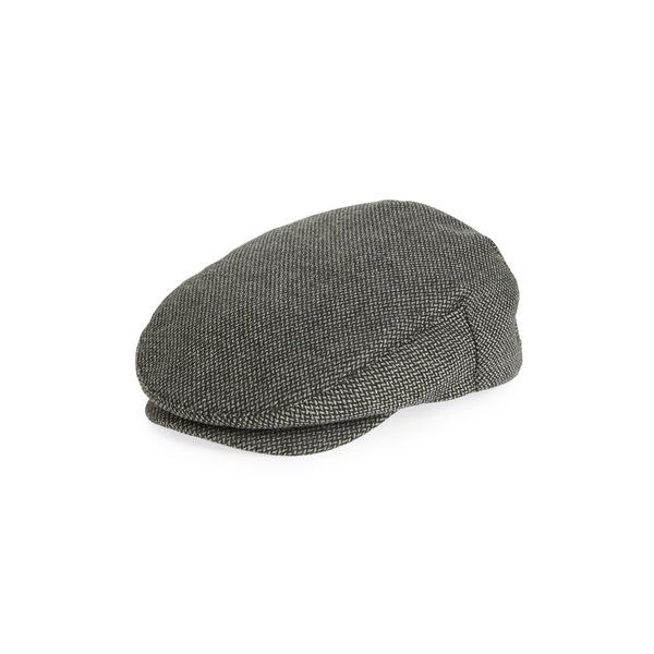 ブリクストン メンズ 帽子 アクセサリー Hooligan III Driving Cap Dark Grey