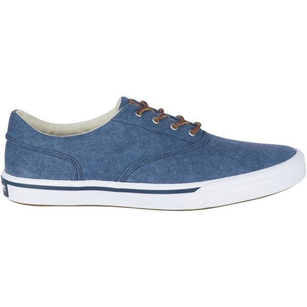 トップサイダー メンズ スニーカー シューズ Sperry Men's Striper II Salt Washed CVO Casual Shoes Navy