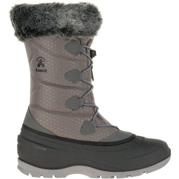カミック レディース ブーツ&レインブーツ シューズ Kamik Women's Momentum2 200g Waterproof Winter Boots Charcoal