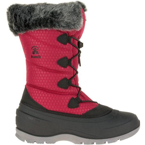 カミック レディース ブーツ&レインブーツ シューズ Kamik Women's Momentum2 200g Waterproof Winter Boots Red