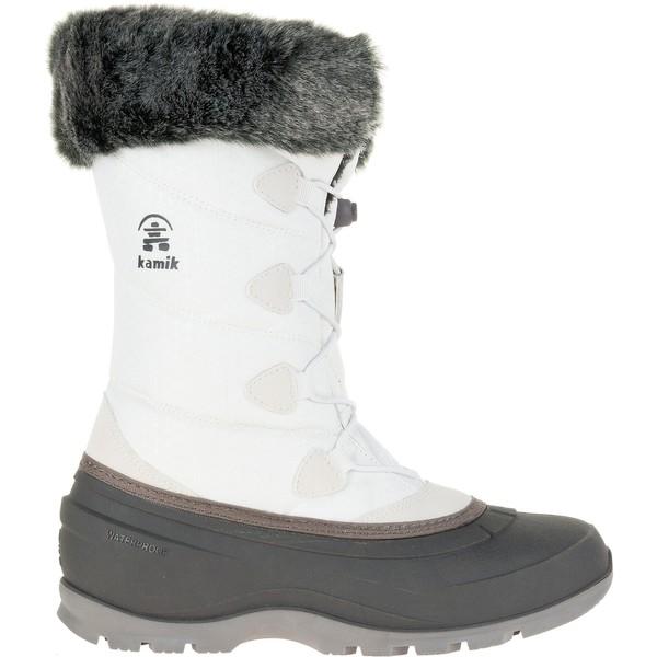カミック レディース ブーツ&レインブーツ シューズ Kamik Women's Momentum2 200g Waterproof Winter Boots White