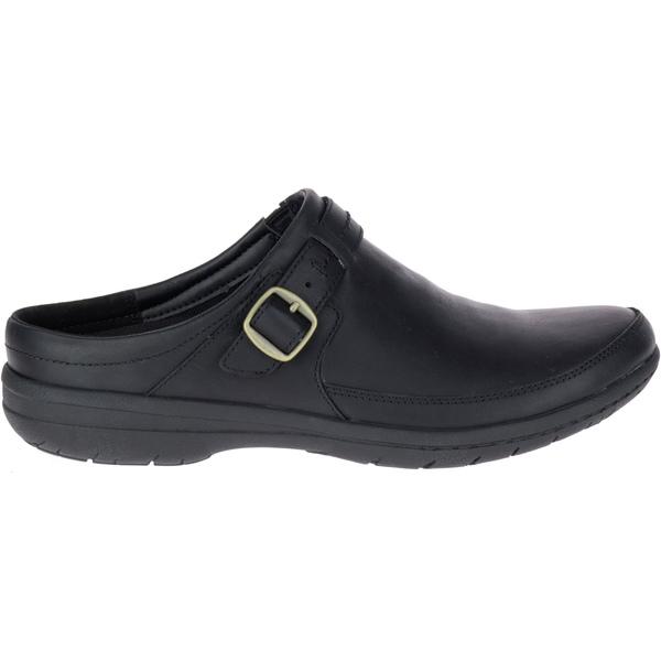 メレル レディース スニーカー シューズ Merrell Women's Encore Kassie Buckle Slide Casual Shoes Black
