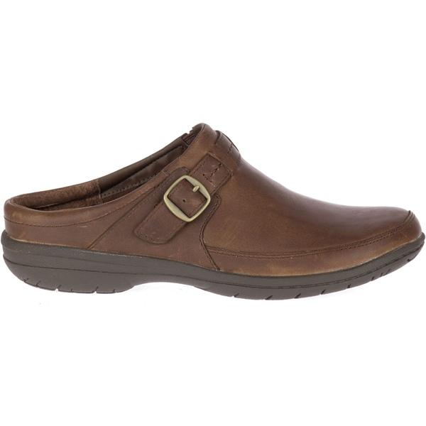メレル レディース スニーカー シューズ Merrell Women's Encore Kassie Buckle Slide Casual Shoes DarkEarth
