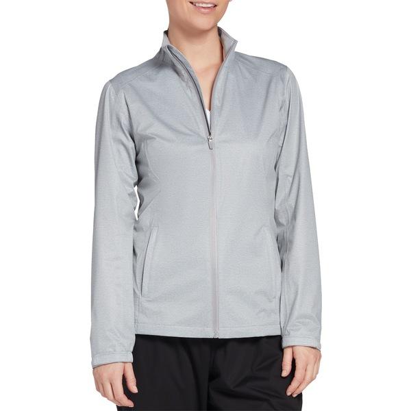 レディハーゲン レディース ジャケット&ブルゾン アウター Lady Hagen Women's Full-Zip Golf Rain Jacket LTHeatherGrey