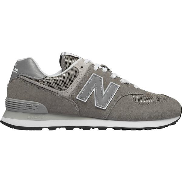 ニューバランス メンズ スニーカー シューズ New Balance Men's 574 Shoes Grey/Grey/Grey
