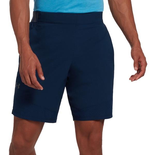 アンダーアーマー メンズ カジュアルパンツ ボトムス Under Armour Men's Vanish Woven Shorts (Regular and Big & Tall) Academy/PitchGray