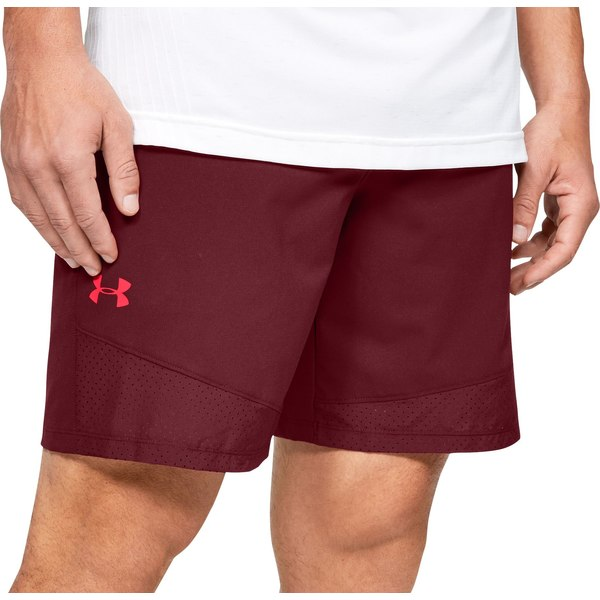 アンダーアーマー メンズ カジュアルパンツ ボトムス Under Armour Men's Vanish Woven Shorts (Regular and Big & Tall) Cordova/Beta