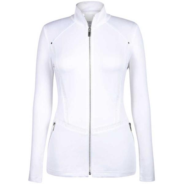テイル レディース ジャケット&ブルゾン アウター Tail Women's Full Zip Golf Jacket White