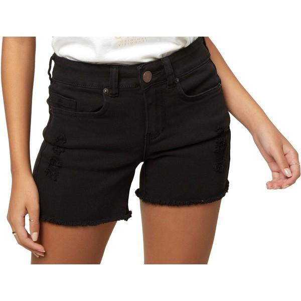 オニール レディース カジュアルパンツ ボトムス O'Neill Women's Cody Denim Shorts Black