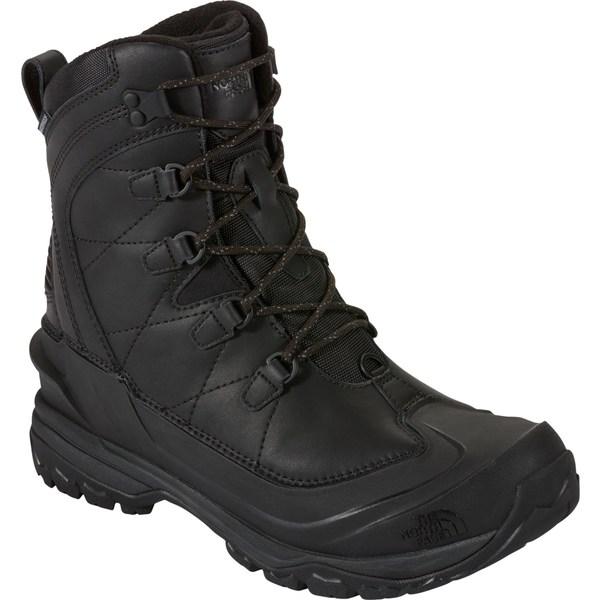 ノースフェイス メンズ ブーツ&レインブーツ シューズ The North Face Men's Chilkat Evo 200g Waterproof Winter Boots - Past Season TnfBlack/RudyRed