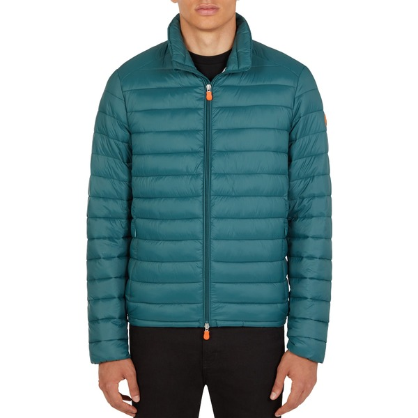 セーブザダック メンズ ジャケット&ブルゾン アウター Save The Duck Men's Puffer Jacket AlpineGreen