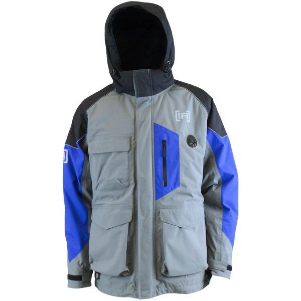 クラム アウトドア メンズ ジャケット&ブルゾン アウター Clam IceArmor Men's Extreme Advantage Parka Blue/Black