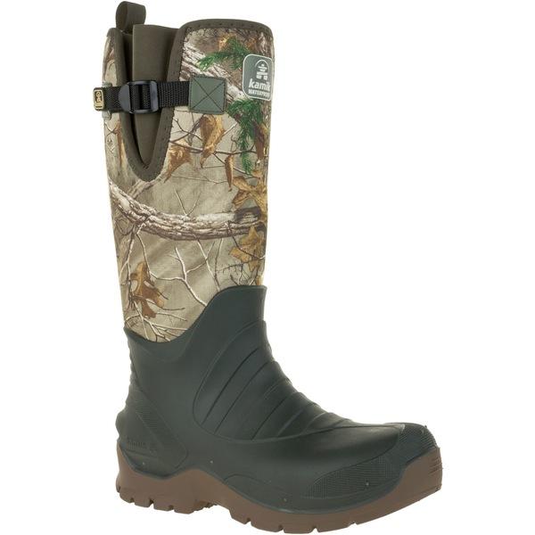 カミック メンズ ブーツ&レインブーツ シューズ Kamik Men's Fieldman RTX Rubber Hunting Boots RealtreeXtra