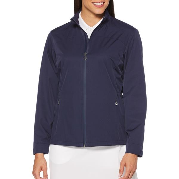 キャラウェイ レディース ジャケット&ブルゾン アウター Callaway Women's Windwear Full Zip Golf Jacket Peacoat