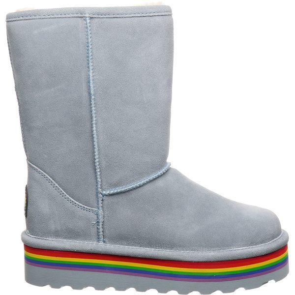 ベアパウ レディース ブーツ&レインブーツ シューズ BEARPAW Women's Retro Elle Sheepskin Boots BlueFog