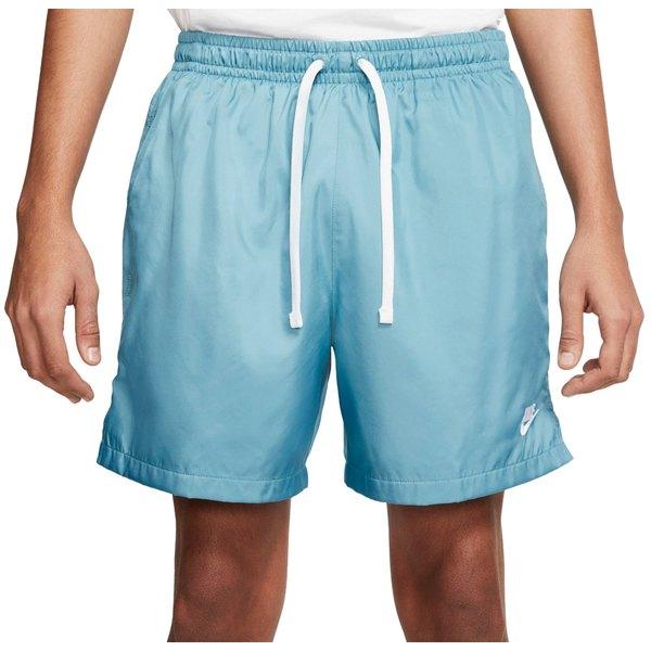 ナイキ メンズ カジュアルパンツ ボトムス Nike Men's Sportswear Woven Shorts Cerulean/White