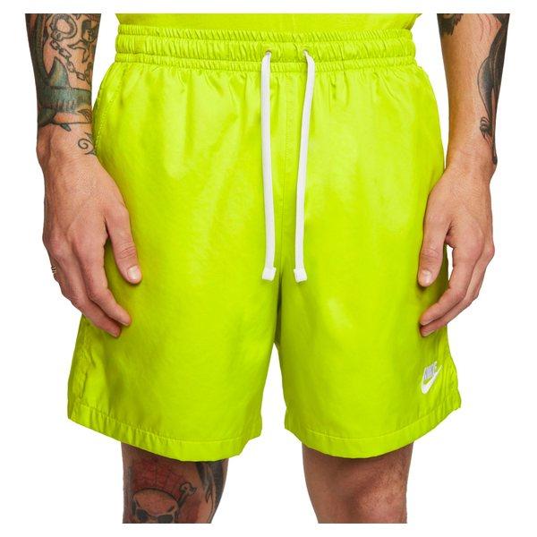 ナイキ メンズ カジュアルパンツ ボトムス Nike Men's Sportswear Woven Shorts BrightCactus/White