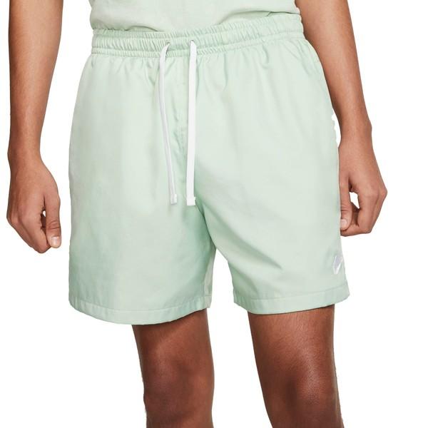 ナイキ メンズ カジュアルパンツ ボトムス Nike Men's Sportswear Woven Shorts PistachioFrost/White