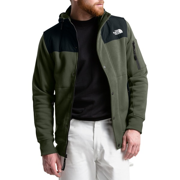 ノースフェイス メンズ ジャケット&ブルゾン アウター The North Face Men's Sherpa-Lined Rivington Fleece Jacket NewTaupeGreen