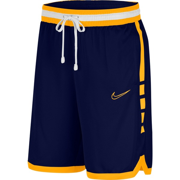 ナイキ メンズ カジュアルパンツ ボトムス Nike Men's Dri-FIT Elite Basketball Shorts BlueVoid/UniversityGold