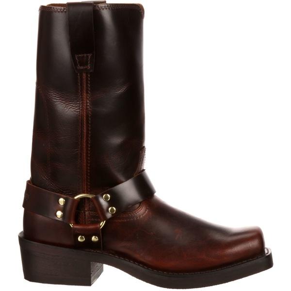 デゥランゴ メンズ ブーツ&レインブーツ シューズ Durango Men's Brown Harness Western Boots Brown