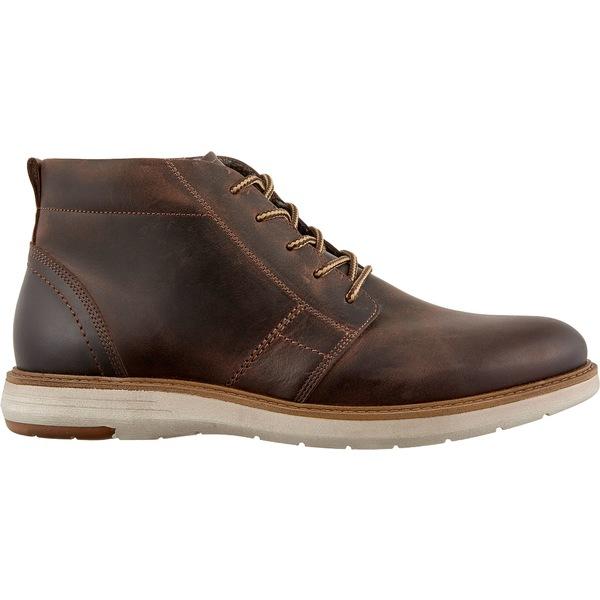 アルパインデザイン メンズ スニーカー シューズ Alpine Design Men's Chukka Boots Brown
