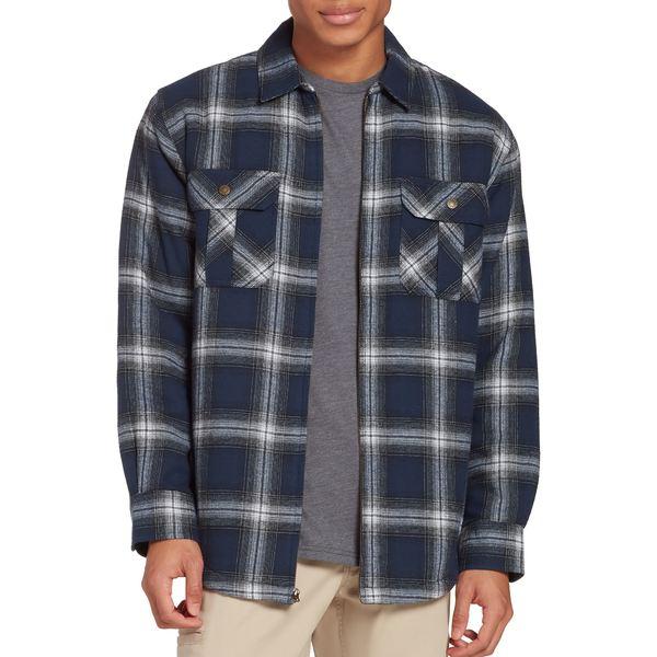 フィールドアンドストリーム メンズ シャツ トップス Field & Stream Men's Sherpa Lined Shirt Jacket BoondockPldDressBlue