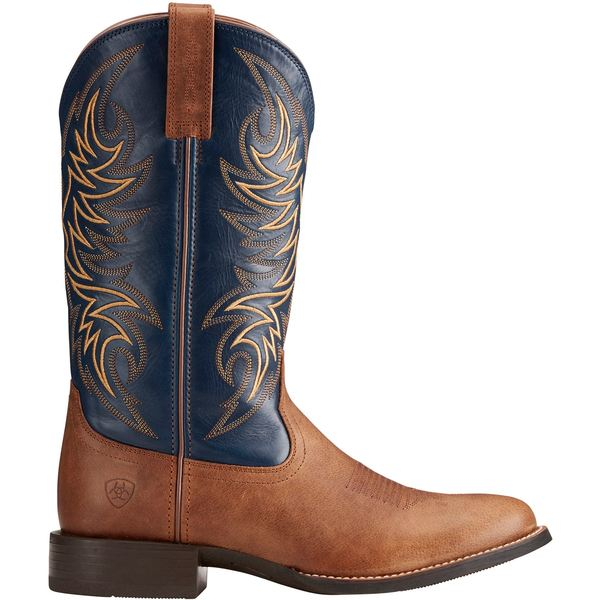 アリアト メンズ ブーツ&レインブーツ シューズ Ariat Men's Sport Horseman Western Work Boots Sandstorm