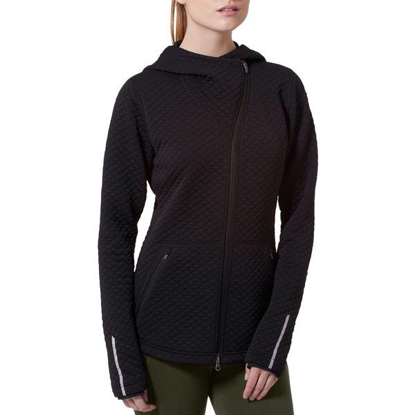 ニューバランス レディース ジャケット&ブルゾン アウター New Balance Women's Heat Loft Asymmetrical Full-Zip Jacket Black