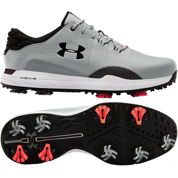 アンダーアーマー メンズ ゴルフ スポーツ Under Armour Men's HOVR Matchplay Golf Shoes Grey/Black