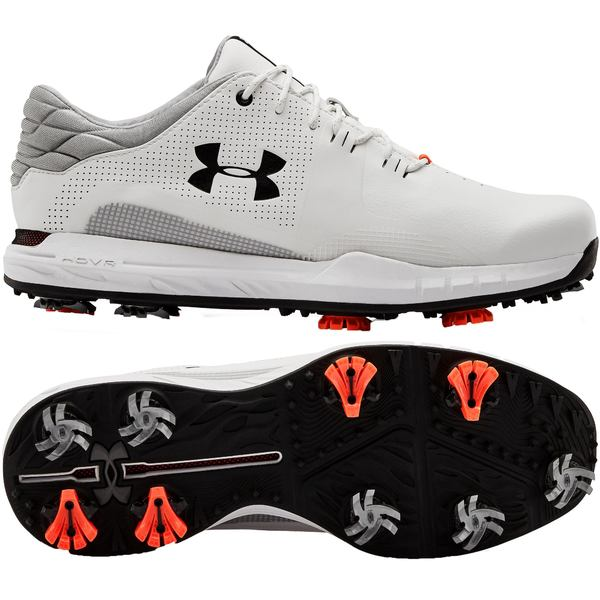 アンダーアーマー メンズ ゴルフ スポーツ Under Armour Men's HOVR Matchplay Golf Shoes White/Black