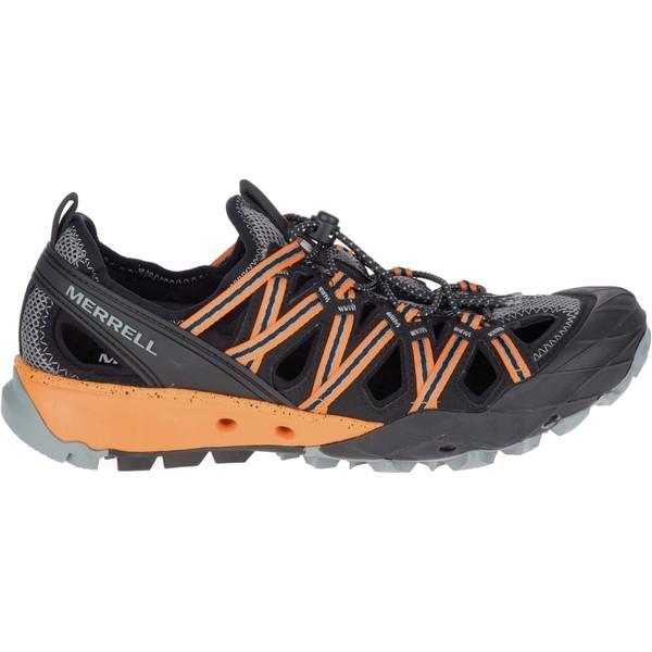 メレル メンズ ブーツ&レインブーツ シューズ Merrell Men's Choprock Shandals Hiking Shoes FlameOrange