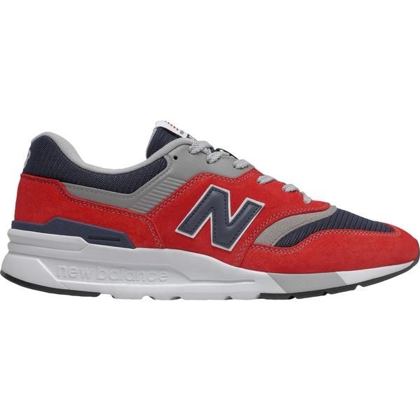 ニューバランス メンズ スニーカー シューズ New Balance Men's 997H Shoes Red/Navy