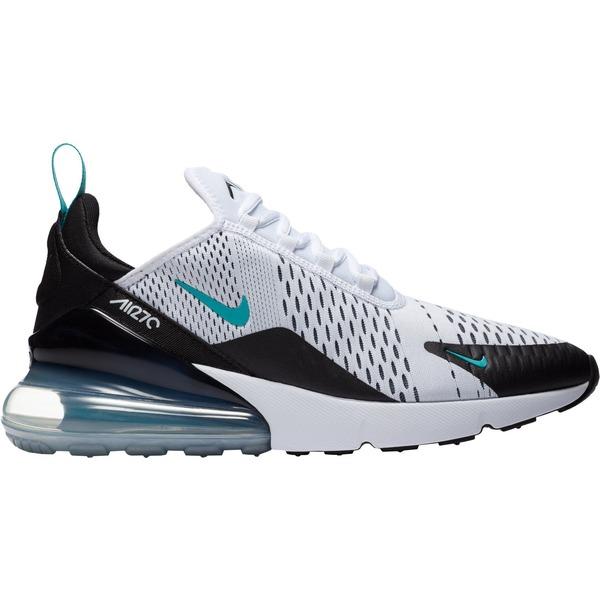 ナイキ メンズ スニーカー シューズ Nike Men's Air Max 270 Shoes Black/Teal