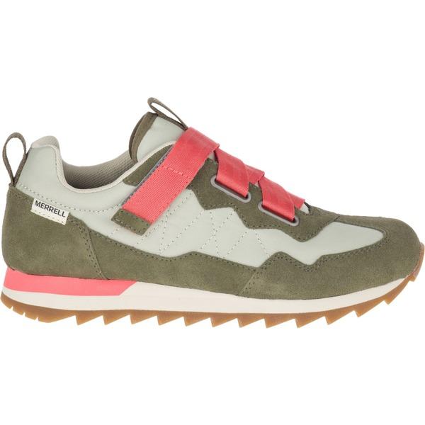 メレル レディース スニーカー シューズ Merrell Women's Alpine Sneaker Cross Casual Shoes Sage