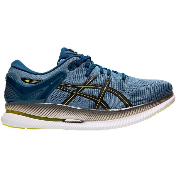 アシックス メンズ ランニング スポーツ ASICS Men's METARIDE Running Shoes BlueGrey/Black