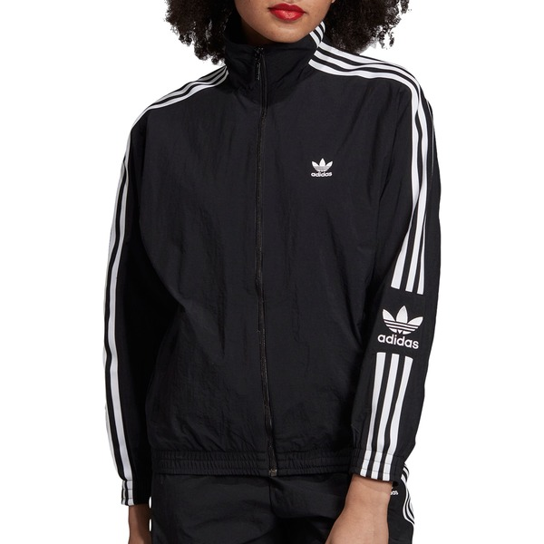 アディダス レディース ジャケット&ブルゾン アウター adidas Originals Women's Lock Up Track Jacket Black