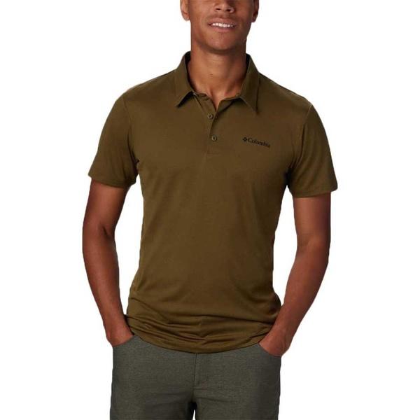 コロンビア メンズ ポロシャツ トップス Columbia Triple Canyon loif00ea