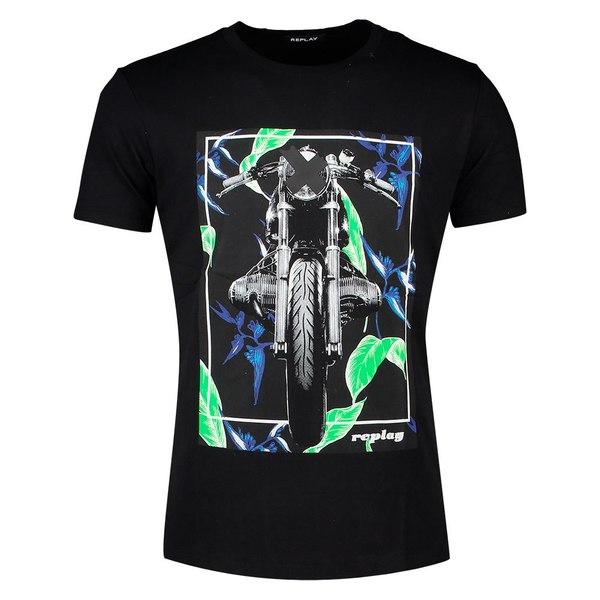 リプレイ メンズ Tシャツ トップス Replay M3011 loif00eb