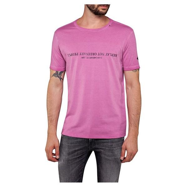 リプレイ メンズ Tシャツ トップス Replay M3050 Tshirt loif00eb