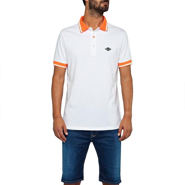 リプレイ メンズ ポロシャツ トップス Replay Stretch Piquet loif00ec