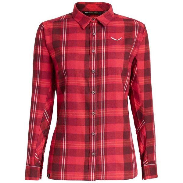 サレワ レディース シャツ トップス Salewa Fanes Flannel 2 Polarlite L/S Shirt loif00ec