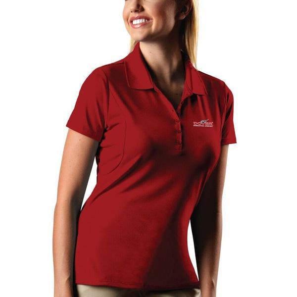 アンティグア レディース ポロシャツ トップス Dover International Speedway Antigua Women's Pique Desert Dry XtraLite Polo Red