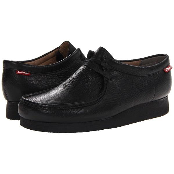 クラークス メンズ ブーツ&レインブーツ シューズ Stinson Lo Black Leather