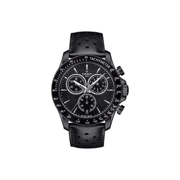 ティソット メンズ 腕時計 アクセサリー V8 Quartz Chronograph - T1064173605100 Silver/Black