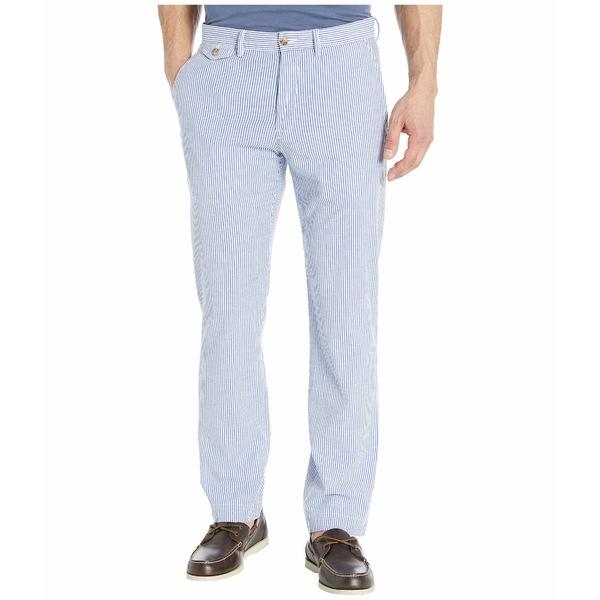 ラルフローレン メンズ カジュアルパンツ ボトムス Straight Fit Bedford Chino Pants Blue/White Seersucker